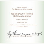 Trained in Tapping for Trauma